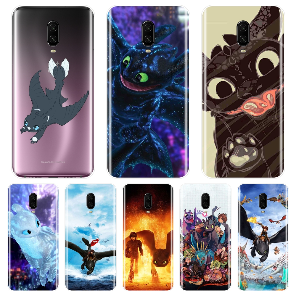 How To Train Your Dragon Toothless Phone <font><b>Case</b></font> Silicone For OnePlus 3 <font><b>3T</b></font> 5 5T 6 6T Soft Back Cover For <font><b>One</b></font> <font><b>Plus</b></font> 3 <font><b>3T</b></font> 5 5T 6 6T image