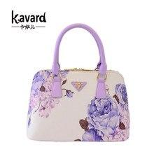 NUEVAS mujeres de los bolsos bolsos de diseño bolso de las mujeres de lujo famosa marca sac à principal bolso pequeño shell 2017 plum flor de precio en dólares