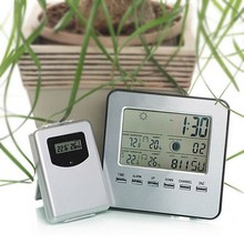 Wholesale prices Digital Wireless Temperature Humidity Sensor Indoor/Outdoor Weather Station Digital Humidity Thermometer T2