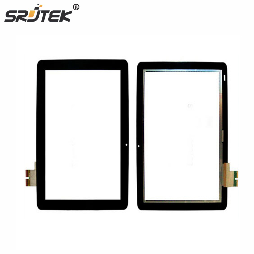 SRJTEK For New Touch Screen Digitizer Glass Replacement Acer lconia tab A510 A511 A700 A701 69.10I20.T02 10.1-inch Black original touch screen digitizer for ipad mini2 white black new tp ic replacement glass screen