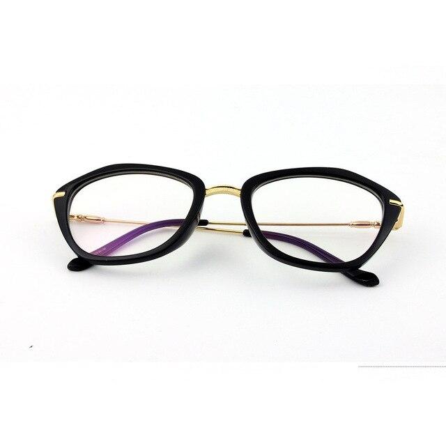 Мода Очки Кошачий Глаз Очки Женщин Способа Оптические Очки Кадров