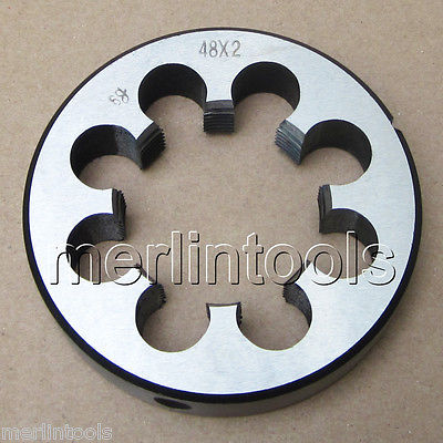 48mm x 2 Metric Right hand Thread Die M48 x 2.0mm Pitch 48mm x 1 metric right hand die m48 x 1 0mm pitch