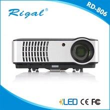 El envío gratuito! nativo 1280×800 Digital 1080 P Full HD 3D wifi Smart Video HDMI USB TV LCD LED proyector de cine en casa utilizar el proyector de negocios