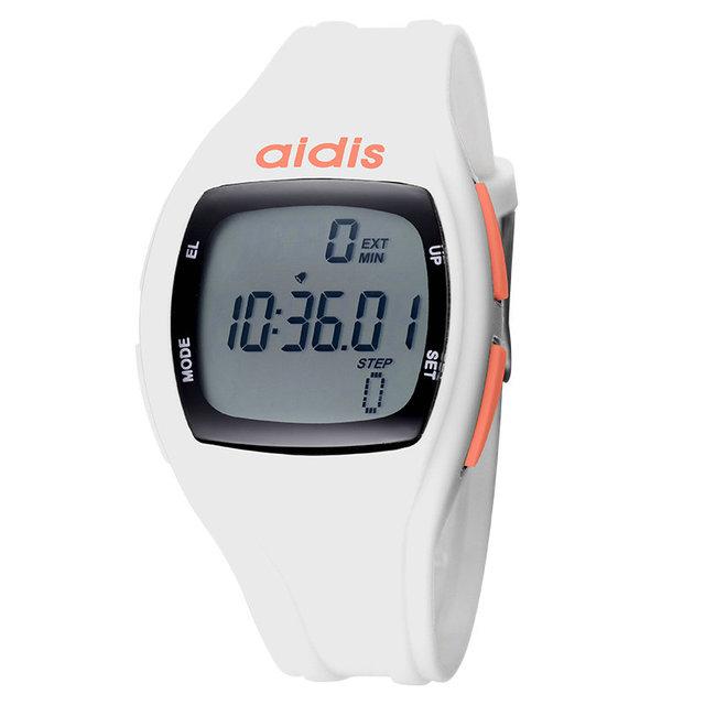 Meninos e meninas crianças estudantes esportes relógio luminoso eletrônico calibre medidor da etapa em execução segundos-resistente à água relógio