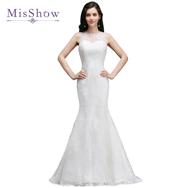 Hot Sale wedding dress 2018 Lace mermaid wedding dresses Elegant ...