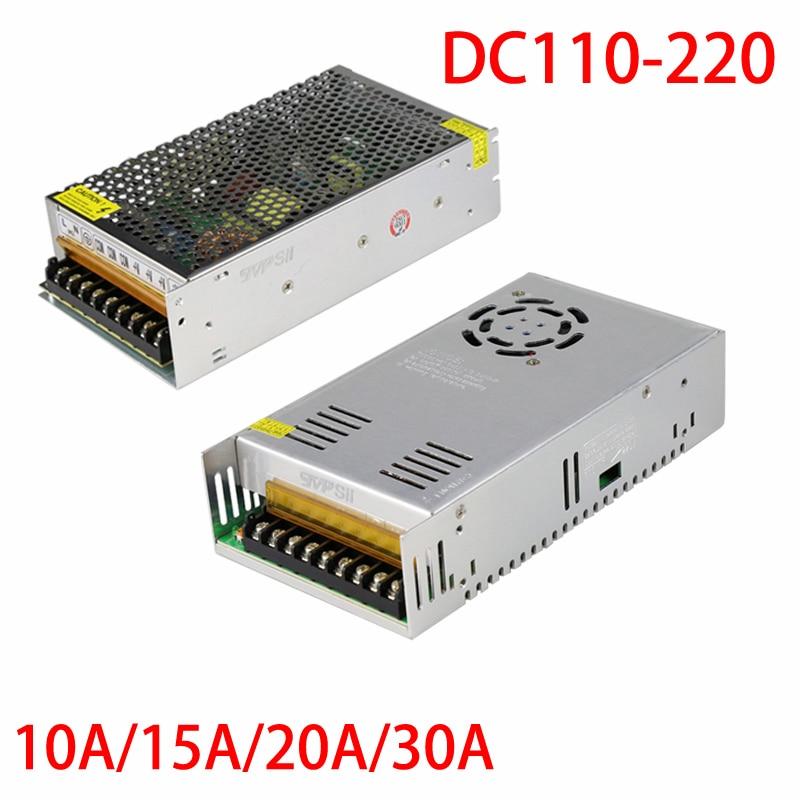 New Input AC110 220V Output DC 12V 30A Monitor Power Supply Surveillance Camera Power Adapter Free
