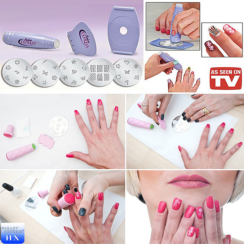 Nail Art Stamp Kit Material Plastic Stainless Steel Hot Selling All Over The World