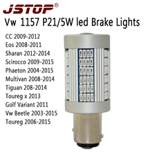 JSTOP CC EOS led car Brake lamp high quality 12 24V No error light BAY15d auto