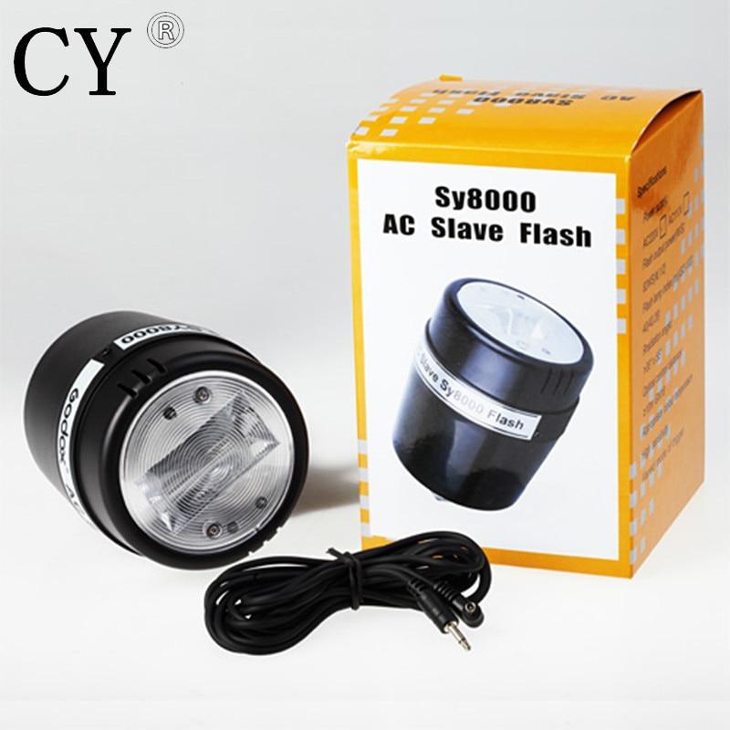 Photo Studio 72W 110V E27 AC Slave Flash Bulb Light Photo Studio SY8000 Flash Light Studio Strobe Flash PSLF11B