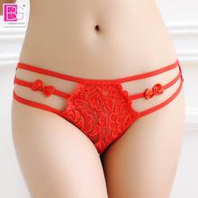 Lbellagiovanna Women Underwear Thongs Ladies Briefs bragas Factory Direct Bikin wholesale Sexy Lace Cotton Womens Panties 9602