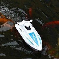 2,4 г RC Высокая лодка модель катер водная электрическая вода игрушки с 20 км/ч пульт дистанционного управления перезаряжаемый гоночный корабл...