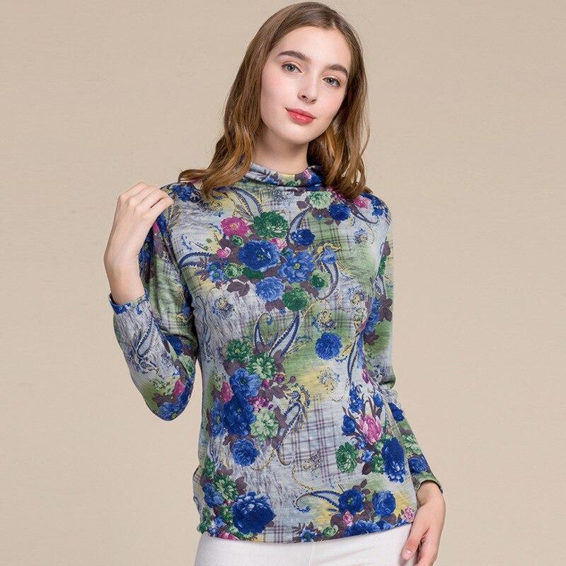 Korean Style Women Wool Sweater Turtleneck Full Sleeve Pullovers Wool Blouse Warm Beautiful Loose Sweater Large