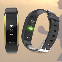 GEJIAN V07 Smart Bracelet Smart Bracelet Heart Blood Pressure Monitor Frequency Smartband Smart Fitness Tracker For Android IOS