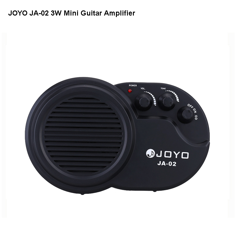 JOYO JA-02 Mini Guitar Amplifier 3w instruments guitarra Amp Speaker with Volume Tone Clean Distortion Effects free shipping clip on belt portable mini electric guitar amp amplifier speaker volume tone control 3w or 5w