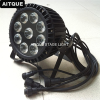 10 los Outdoor-led-licht par 9x18 watt wasserdicht par kann rgbwa uv led wash led par64 ip65 licht