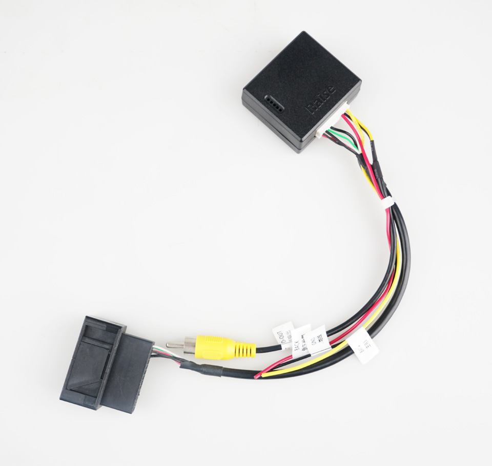 RGB para Conversor de Sinal AV CVBS Adaptador Box para OEM Fábrica CCTiguan Retrovisor Câmera de segurança para VW Volkswagen Passat Magotan