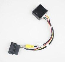 RGB к AV CVBS сигнал коробка адаптера конвертера для фабрика OEM камера заднего вида для Фольксваген CCTiguan Passat Magotan