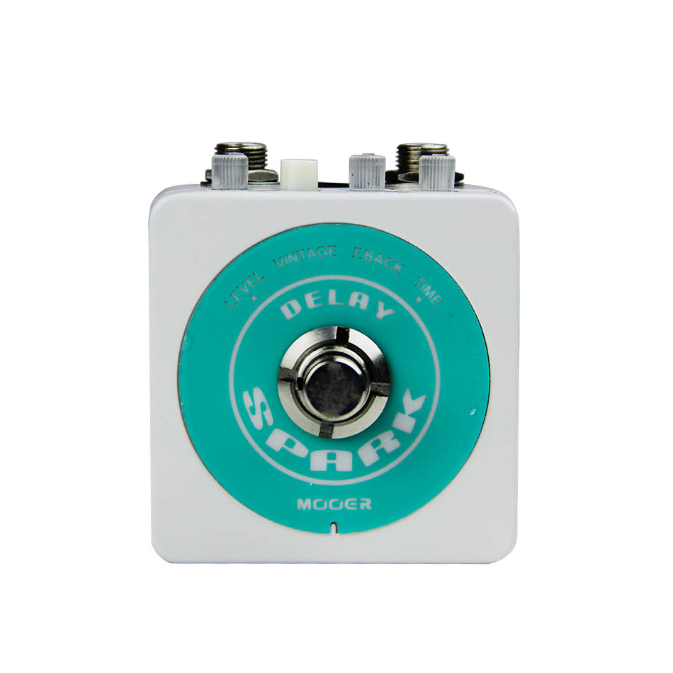 NEW Guitar Effect Guitar Pedal MOOER Spark Series SPARK DELAY Classic analog delay: Warm and smooth цена