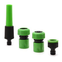 Mayitr 4pcs Garden Hose Connector Set Spray Tool Nozzle Tap Adapter Irrigation Tools