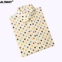 Blouse Blusas Femininas Women Tops Long Sleeve Shirt Women Summer Tops Shirts Polka Dot Kawaii 2017 Vintage Plus Size