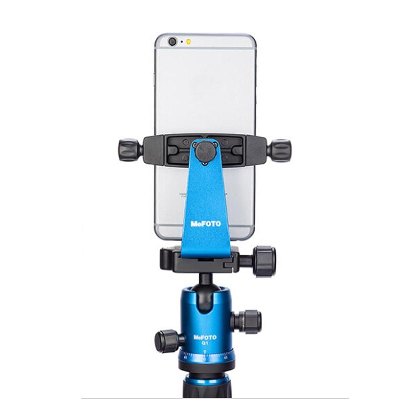 МеФОТО СидеКицк360 Плус МПХ200 Адаптер за паметни телефон Држач мобилног телефона Лаган носач за мини статив Бесплатна достава