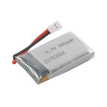 1Pcs 3.7V 800mAh Battery for Drone For x5c x5sw x5 L15 RC Quadcopter Pro Accessories Replacement  Drop Shipping Drop Shipping