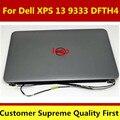 Original 13.3 ''laptop pantalla lcd táctil completa conjunto de la cubierta superior para dell xps 13 9333 1920*1080 dfth4 probado completamente