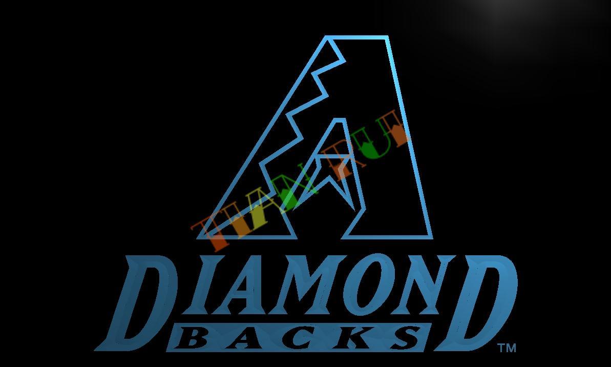 LD129- Arizona Diamondbacks LED Neon Light Sign   home decor  crafts