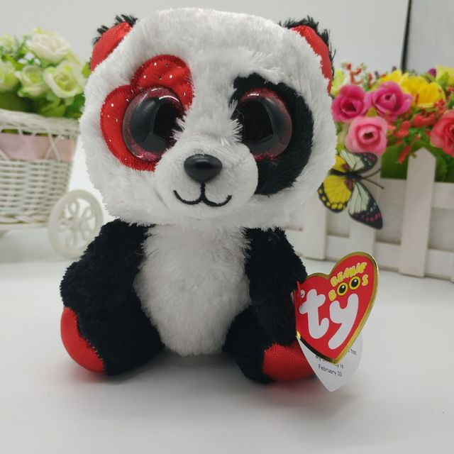 Valentina Panda Ty Beanie Boos Collectible 6