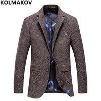 2018 Brand Mens Blazers Gentlemen Good Quality Blazer Men's coats Luxury Business Casual Suits Jackets for Men Big size M 3XL