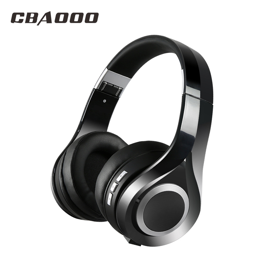 CBAOOO Bluetooth Headphones with Microphone Sport WirelessHeadset Bluetooth for Iphone Samsung Xiaomi headphone philips shg7210 professional game headphones with microphone wire control headphone for xiaomi mp3 official verification