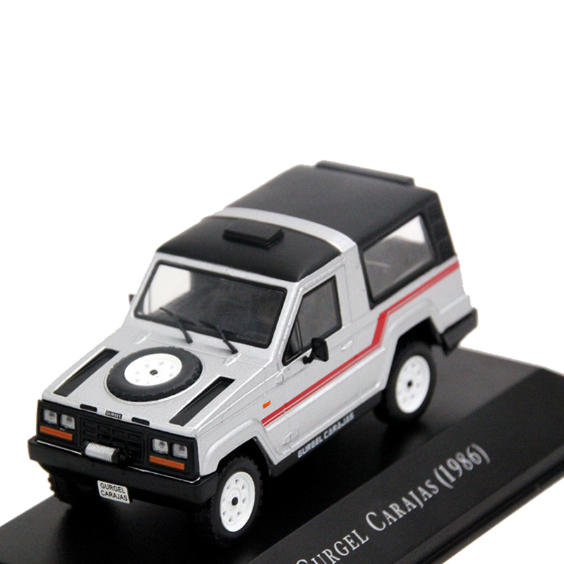 IXO 1:43 Scale Gurgel Carajas 1986 Auto Show Gift Models Cars Collection