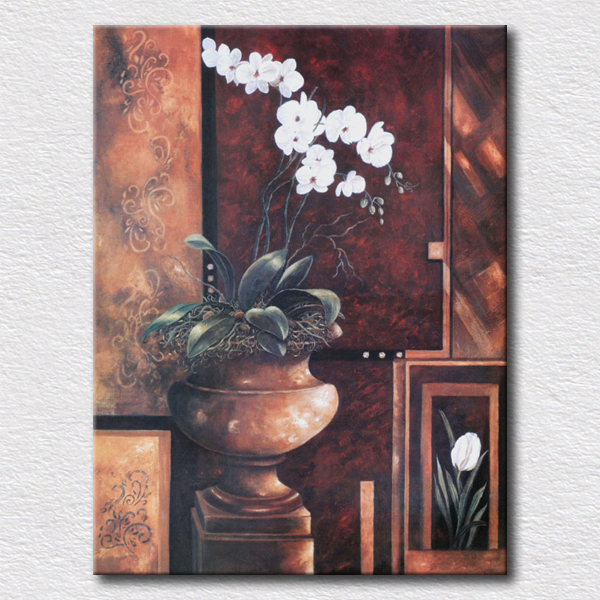 Aliexpress buy beautiful white flowers oil painting flower aliexpress buy beautiful white flowers oil painting flower printing canvas picture on the wall wholesale sell from reliable pictures on the wall mightylinksfo