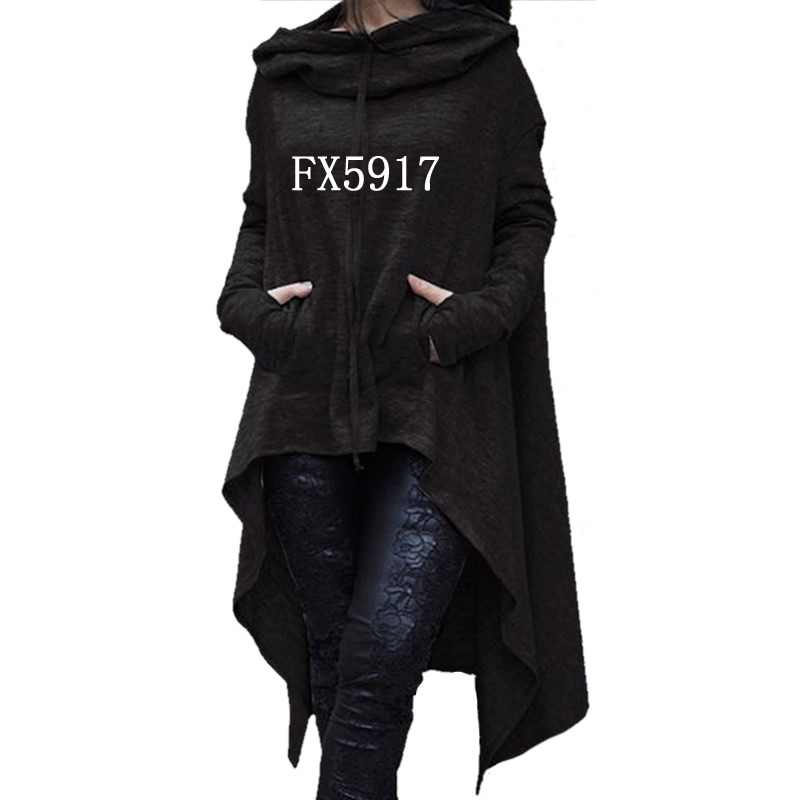 2018 nueva moda Tops sudaderas con capucha mujer Kawaii sudadera mujeres Casual chicas divertidas suelta otoño cómodo