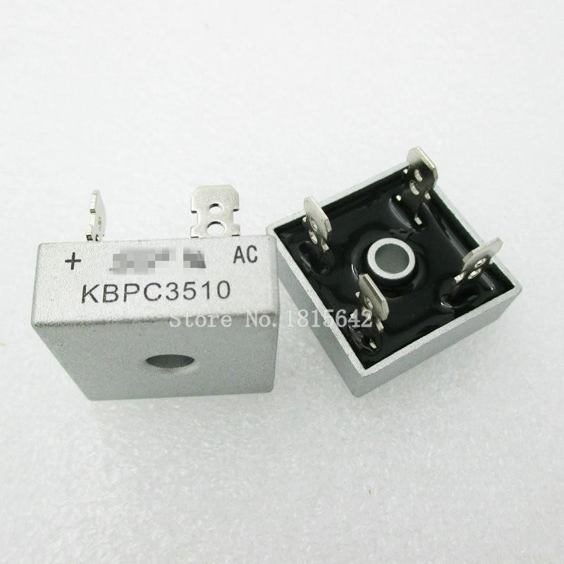2PCS/LOT KBPC3510 35A 1000V Diode Bridge Rectifier Original