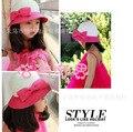 Accesorios de los niños sombreros de playa sombrero de ala ancha dom sombreros del verano del bebé tapa accesorios moda de las muchachas gorras 5 unids/lote envío gratis
