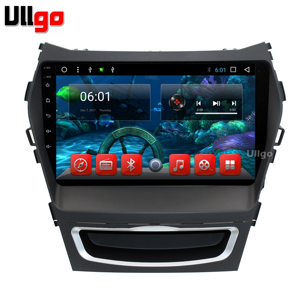 9 inch Octa Core Android 7.1 Car DVD GPS for Hyundai Santa Fe IX45 2013 2014 Autoradio GPS Car Head Unit with BT RDS WIFI lsqstar 7 android4 1 capacitive screen car dvd player w gps wifi swc aux for hyundai ix45 santa fe