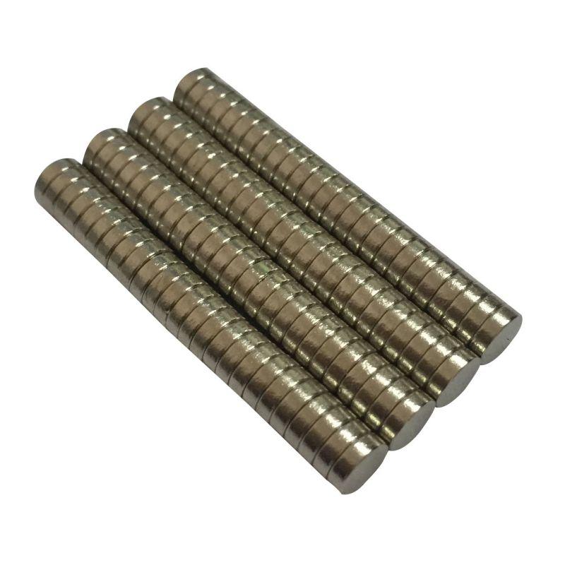 50pcs N50 6mm x 2mm Neodymium Magnets Strong Rare Earth Magnet Craft Model Disc Sheet Fridge 10 20pcs lot strong rare earth ndfeb magnet 8mm x 3mm neo neodymium n50 magnets craft model disc sheet 8 3 mm