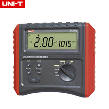 UNI-T UT529C Dijital Toprak Test Direnç Akım Gerilim Frekans Multimetreler İzolasyon Direnci Test Cihazı