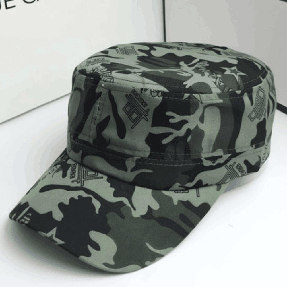 2019 Men Women Summer Army Camouflage Camo   Cap   Casquette Hat Climbing   Baseball     Cap   Hunting Fishing Desert Hat A3