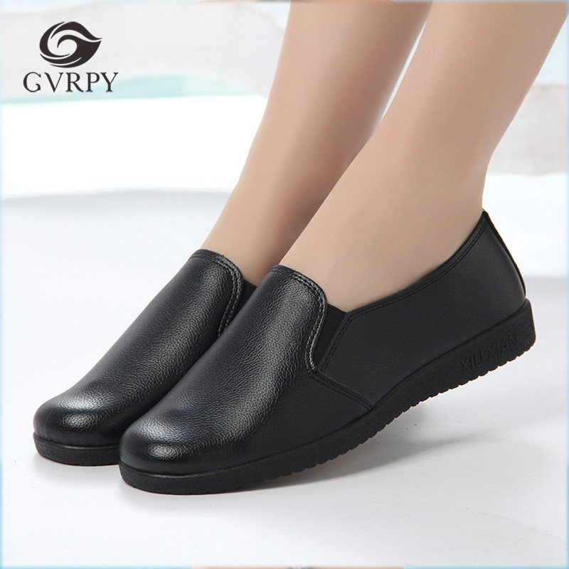 2018 New Women Chef Shoes Non-skid Casual Black Non-slip Anti-Oil Restaurant Kitchen Hotel Hospital Safety Workwear Shoes Female