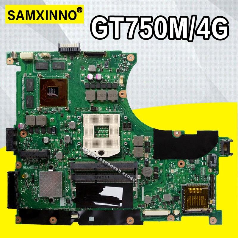 For N56VV ASUS N14P-GT-A2 N56VM N56VZ N56VB N56VV N56V GT630M/GT635M 2Gb  Laptop Motherboard Tested 100% Work Original Mainboard
