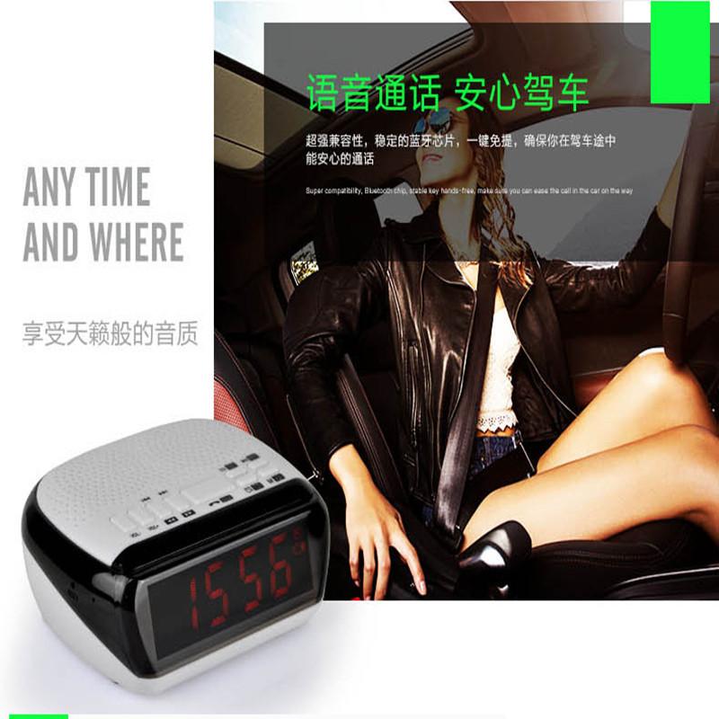 Mini Portable Dual Alarm Clock Bluetooth Stereo Speaker LCD Digital FM Radio Bluetooth Wireless Speaker Support TF For Computer (26)