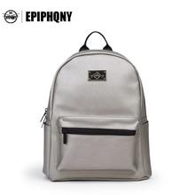 Epiphqny бренда небольшой рюкзак Дамские туфли из PU искусственной кожи ежедневно backbag с сеткой Дорожные сумки Обувь для девочек Packbag школа