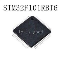 5PCS/LOT STM32F101RBT6  STM32F101 RBT6 QFP-64 NEW