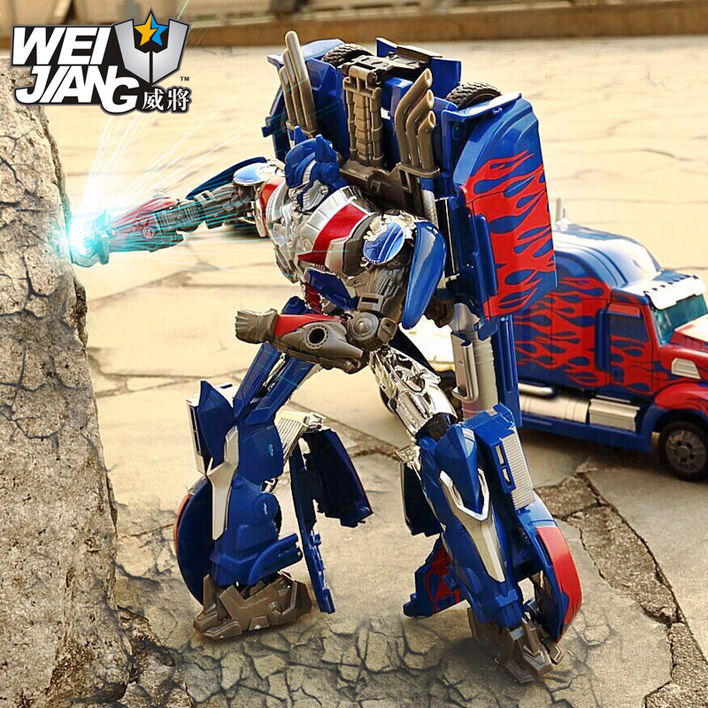 цена на Original Brand Weijiang Transformation Anime Toys Matel Model Qingtian Captain Action Figure Brinquedos For Children Birthday