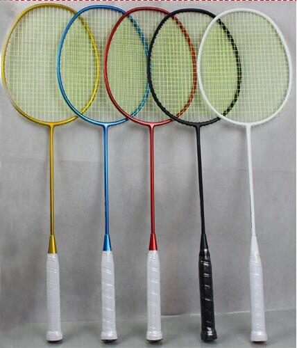 5U 77g Super léger 1 pc T Jiont 100% raquette de Badminton en carbone raquette de Badminton ultralégère 5U