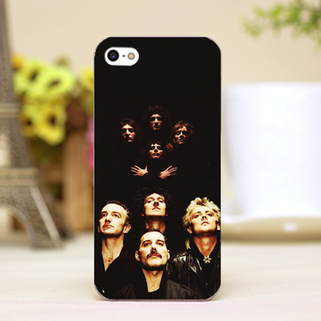 Queen Band members Design Cover case for iphone 4 4s 5 5s 5c 6 6s plus samsung galaxy S3 S4 mini S5 S6 Note 2 3 4 z2281