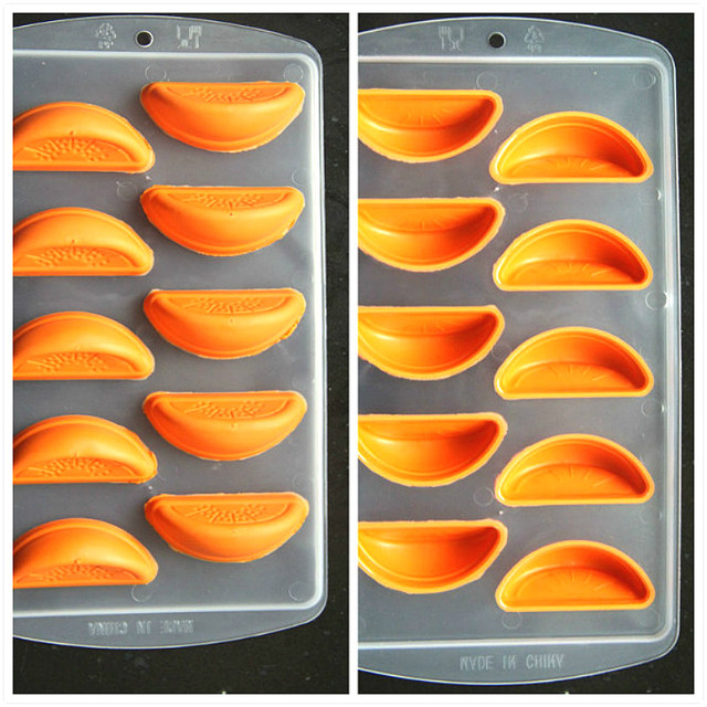 Creative Fruit Shape Safe Silicone Ice Tray Ice Mold Ice Cream Maker Kitchen DIY