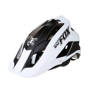 Image 2 - BATFOX 一体成型自転車道路ヘルメット男性 MTB スポーツサイクリングヘルメット超軽量プロバイクヘルメット